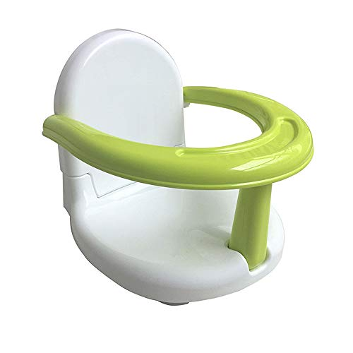 TRIEtree Baby Bath Seat, Baby Folding Seat Safety Anti Slip Baby Chair Seat Practice Sitting/Eating Seat for Newborn Infant Child