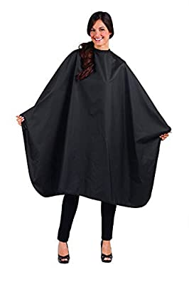 Betty Dain Signature Mirage Chemical-proof Coloring/Styling Cape, Lightweight Polyurethane, Chemical-proof and Waterproof, Snap Closure at Neck, Machine Washable, Generous 54 x 58 inch Size