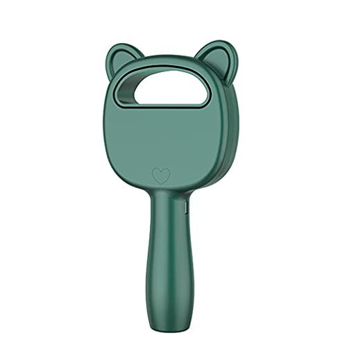 CandyTT Ventilador eléctrico sin Cuchillas de 3 velocidades, portátil, inalámbrico, con Carga USB, Mini Ventilador de Mano, Mini Enfriador de Aire de Escritorio, Ventilador portátil sin Hojas (Verde)