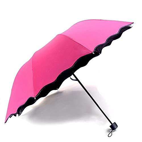 YAOQI Guarda-chuvas invertidos, camada dupla, guarda-chuva dobrável reverso, à prova de vento, proteção UV, guarda-chuva grande reto do avesso para chuva de carro, ao ar livre, com alça em forma de C