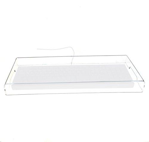 Acrylglas-Abdeckung für mittelgroße Tastaturen. tastatur-cover. tastatur-abdeckhaube tastatur-erweiterung von HOKU