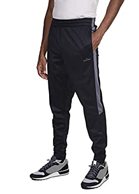 Spalding Mens Tricot Athletic Fit Sports Training Jogger Pants Gym Clothes (See More Colors and Sizes)