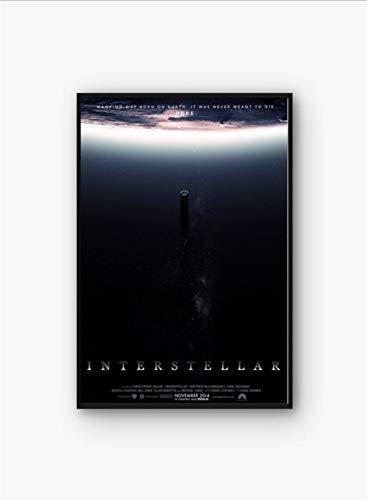 tgbhujk Interstellare Filmplakat Wandkunst Wanddekor leinwand Kunst Poster Gemälde für Wohnzimmer 60 * 90 cm Ohne Rahmen