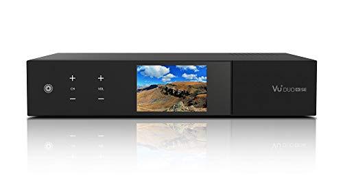 VU+ Duo 4K SE 1x DVB-S2X FBC Twin Tuner 2 TB HDD Linux Receiver UHD 2160p