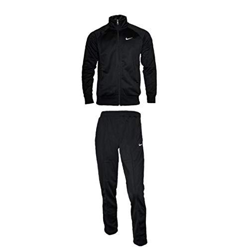 Nike Herren Trainingsanzug Schwarz Gr. S