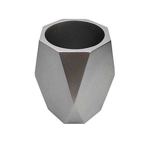 Hometopia Decorative Vase for Living Room (Silver)