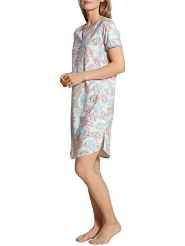 CALIDA Tender Nights Sleepshirt Kurzarm, Länge 95cm Damen