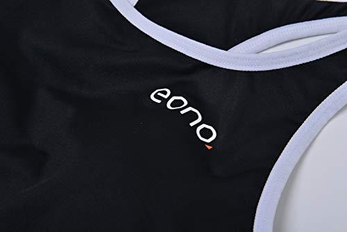 Eono Essentials Sport BH mit Racerback für Damen (Größe S) - 4