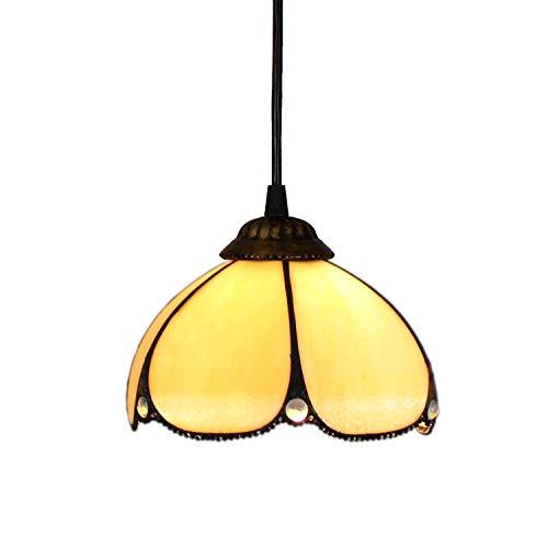 Tiffany - Lámpara de noche de 8 pulgadas, diseño de Tiffany