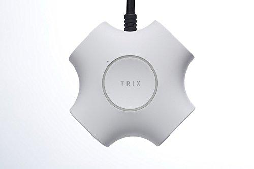 TRIX 電源タップ トリックス カッコいい 2.1A インテリア (White)