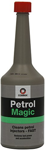 Comma PEM400M Petrol Magic- Limpiador de inyectores de Gasolina (400 ml)
