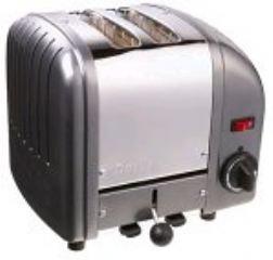 Dualit 2 Slice Toaster Metallic Charcoal 20241