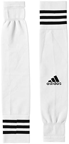adidas Team Sleeve 18, Calzini Unisex – Adulto, White/Black, 4042