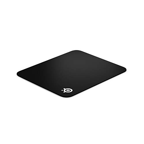 SteelSeries QcK Gaming Surface - Medium Hard - Minimal Friction - Pinpoint Accuracy , Black