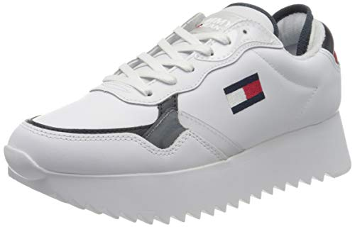 Tommy Hilfiger Damen Imogen 2a Sneaker, Beige (RWB 0k5), 37 EU