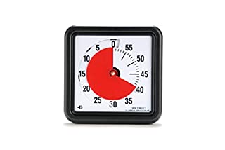 Time Timer Original 8 inch; 60 Minute Visual Timer – Classroom Or Meeting Countdown Clock for Kids and Adults (Black) (B000J5OFW0) | Amazon price tracker / tracking, Amazon price history charts, Amazon price watches, Amazon price drop alerts