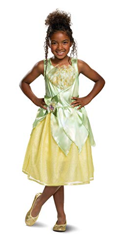 Disney Princess Tiana Classic Girls' Costume, Green