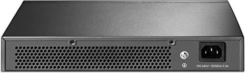TP-Link TL-SG1016DE 16-Port Gigabit Unmanaged Pro Switch (Plug&Play, Gigabit Ports, Metallgehäuse, VLAN, QoS, Lifetime warranty)