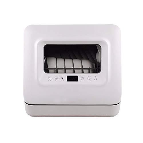 LAMCE Lave Vaisselle Mini Mini Lave Vaisselle- Classe A+ / 51 decibels - 6 Couverts - Blanc Bandeau,Lave Vaisselle encastrable Whirlpool,Lave Vaisselle Pose Libre: Blanc White