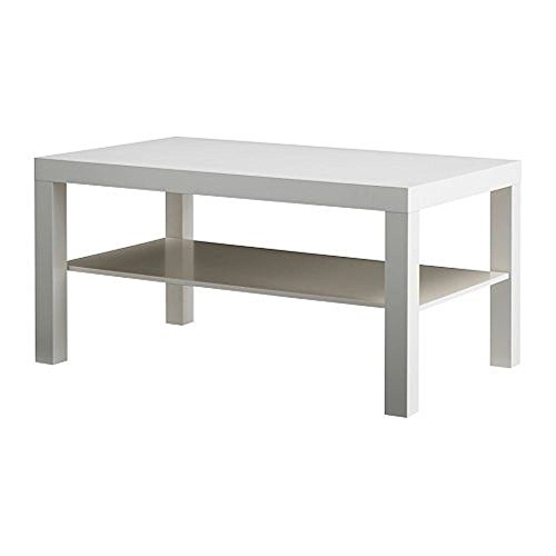 Mesa de cafe negro / marron., plastico, Blanco, coffee table