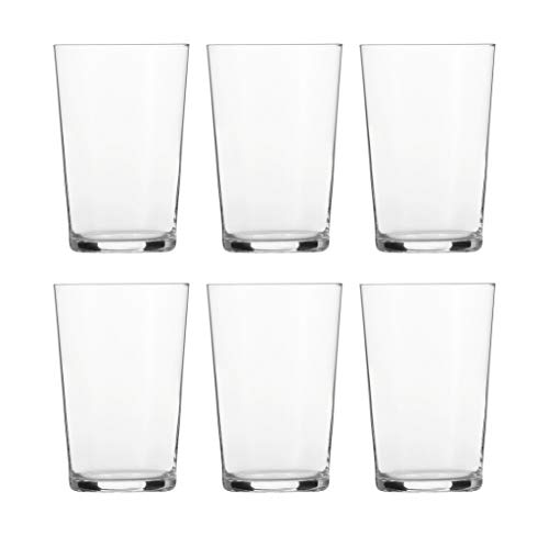 Schott Zwiesel BASIC BAR SELECTION 6-teiliges Softdrinkglas Nr.2 Set Becher, Glas, transparent, 29.4 x 20.4 x 14.5 cm, 6-Einheiten