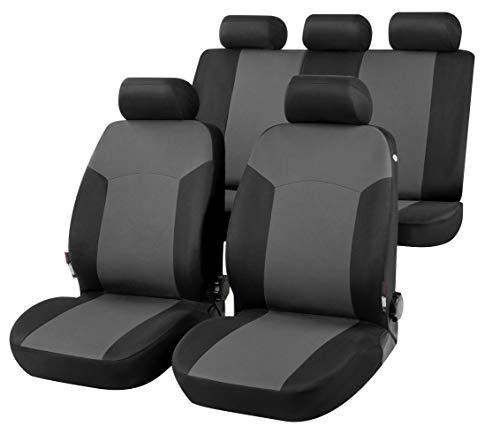 rmg-distribuzione Coprisedili per SPORTAGE Versione (2010-2015) con Aperture per sedili con airbag, bracciolo Laterale, sedili Posteriori sdoppiabili, Cinture di Sicurezza R01S0380