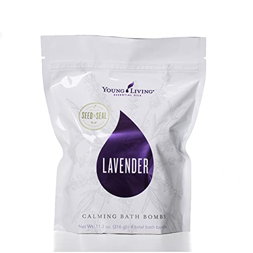 Lavender Calming Bath Bombs 4pk by Young Living Essential Oils