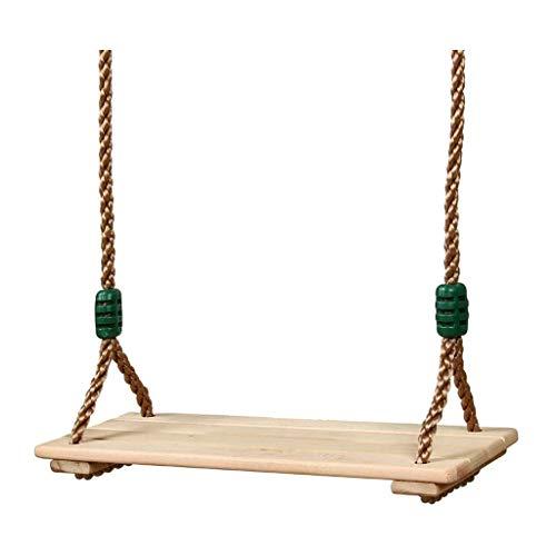 Q-L Lichtgewicht Houten Schommel Hanging Huis Woonkamer Kinderanimatie Faciliteiten Maximale Belasting 130kg