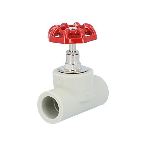 Absperventil PP-R PPR Rohr verschweißt DN 20 25 32 Schweißtechnik Fittings (25)