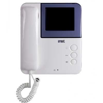 Urmet 956/82 Videocitofono Master/Slave aggiuntivo Simply per kit 956/81