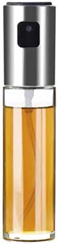 Botellas de inyección de combustible, neblina de aceite engrasador Vinagrera portátil Barbacoa Cocina Cisterna aerosol, barbacoa, ensaladas, botellas de la parrilla petróleo, el oro, la plata Color: