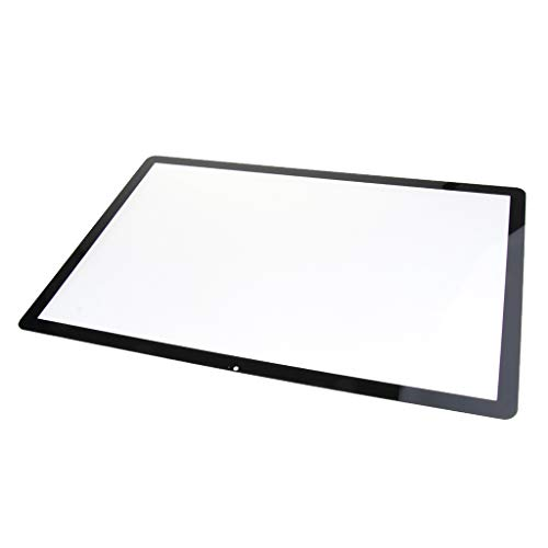 F Fityle Schwarz 24-Zoll LCD Glas Frontschirm Panel Kit für iMac A1225 LCD Display Touchscreen und Digitizer Assembly