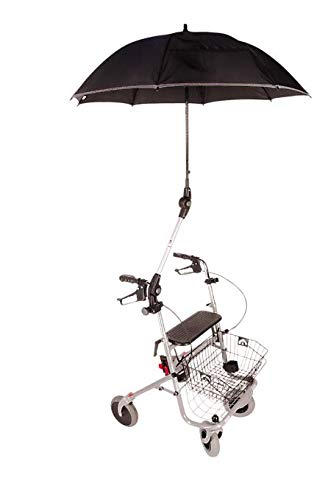 Rolstoel en Rollator paraplu Zwart