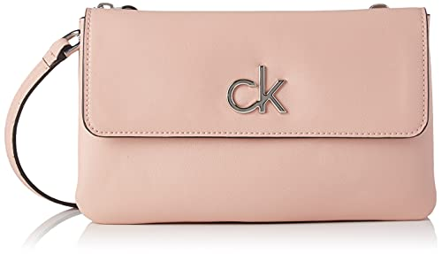 Calvin Klein Damen RE-Lock Crossovers, Blush, Medium