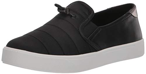 Cole Haan Women's Grandpro Spectator 2.0 Puffer Slip On Shoe Sneaker, Black/Gunmetal Specchio, 5.5