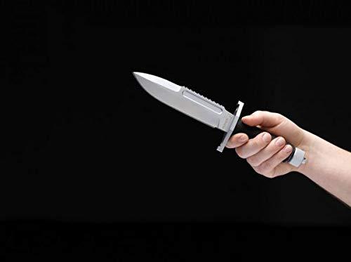 Boker Plus 02BO001 Apparo Fixed Blade Knife, Grey