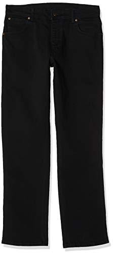 Wrangler Herren Jeanshose Texas W10IRX26T, Schwarz (Black), W40/L30