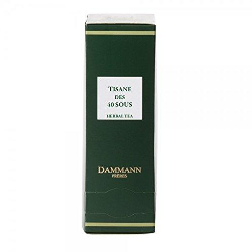 Dammann Frères - Tisane des 40 sous - 24 sachets