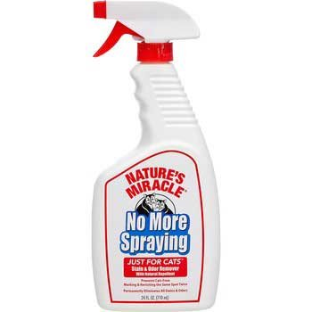 Just For Cats No More Spraying Stain &Odor Remover