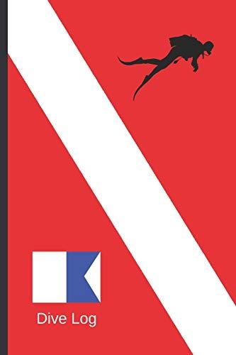 LIBRO DE INMERSIONES: DIVE LOG | CUADERNO DE REGISTRO DETALLADO PARA BUCEADORES | HASTA 120 INMERSIONES | SUBMARINISMO. BUCEO. DIVE LOG. Diseño Bandera.