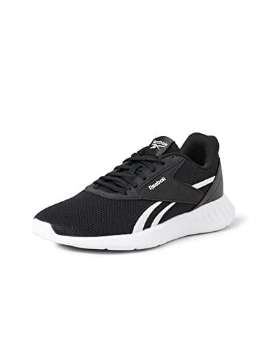 Reebok Lite 2.0, Zapatillas de Running Hombre, Negro/Blanco/Negro, 41 EU