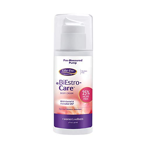 Life-Flo BiEstro-Care | Estrogen Cream w/Estriol USP & Estradiol USP | Physician-Developed Cream for Optimal Balance | 5 oz Pump