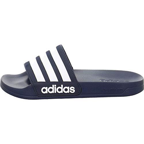 adidas Herren Cf Adilette Dusch-& Badeschuhe, Blau (Collegiate Navy/footwear White/collegiate Navy 0), 39 EU