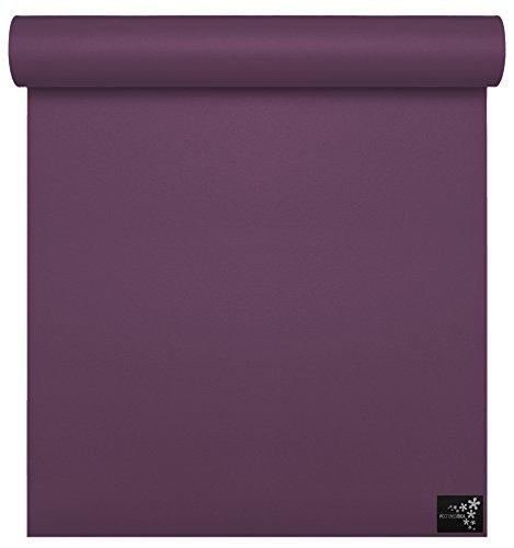 YOGISTAR tapis de yoga sun - 6 mm prune