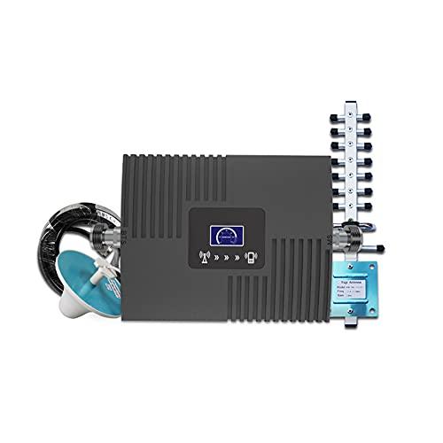 AJIC Amplificador de señal de teléfono Celular para el hogar y la Oficina Repetidor gsm 2G 3G Amplificador de señal Celular 4G Amplificador Celular 4G gsm 900 1800 2100 Repetidor Celular