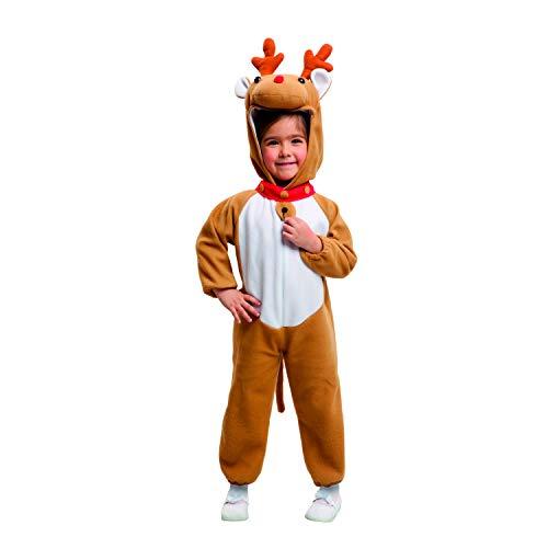 My Other Me Me-203469 Disfraz de reno, 7-9 años (Viving Costumes 203469)