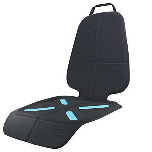 Car Seat Protector for Baby Child Car Seats, Shynerk Auto Seat Cover Mat for Under Carseat to Protect Automotive Vehicle Leather and Cloth Upholstery - Waterproof and Dirt Resistant - for SUV, Sedan,