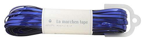 メルヘンアート ラ メルヘン・テープ 5mm 150g 約30m Col.163 サファイア 1玉