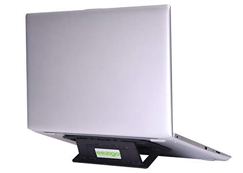 eezigo Diseñado para movilidad Soporte para laptop | El soporte para computadora portátil ultraligero, ecológico, portátil, compacto, ajustable y ergonómico