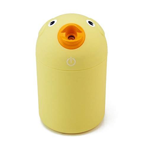 Smotly geurolie diffuser luchtreiniger, USB-cartoon vogel filter geschikt auto aroma muggen afweer kind nachtlamp aroma diffuse